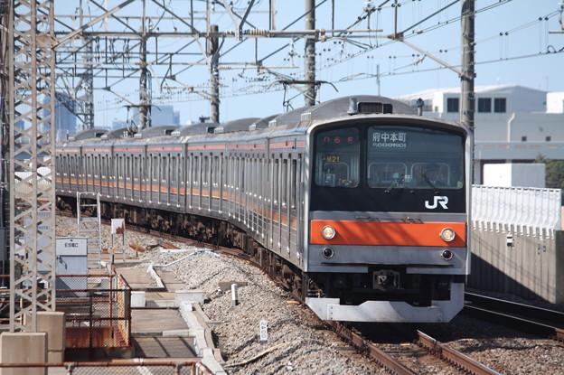 武蔵野線 205系5000番台ケヨM21編成