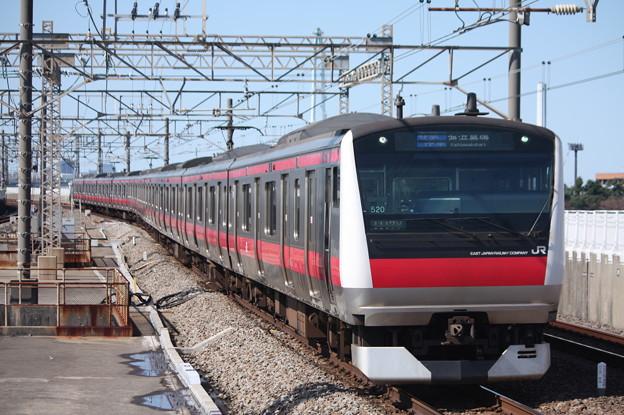 京葉線 E233系5000番台ケヨ520編成 (2)