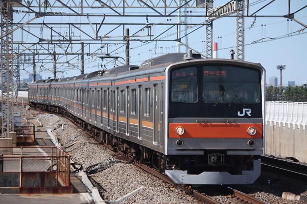 武蔵野線 205系5000番台ケヨM28編成