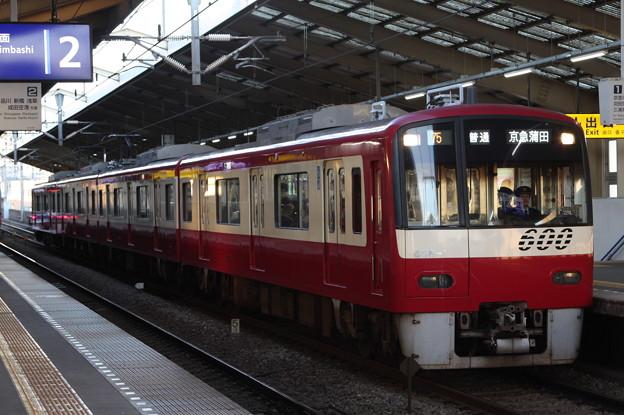 京急本線 600形656F 普通 京急蒲田 行