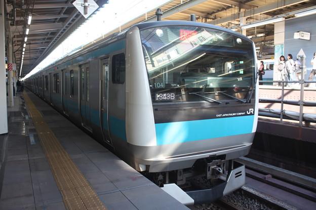 京浜東北線 E233系1000番台サイ104編成 (2)