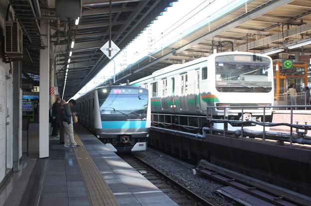 京浜東北線E233系1000番台・東海道線E231系1000番台