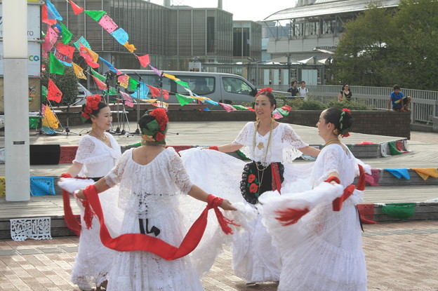 お台場メキシコフェス メヒカーナ2018 ラス・パロミータス ダンス (7)