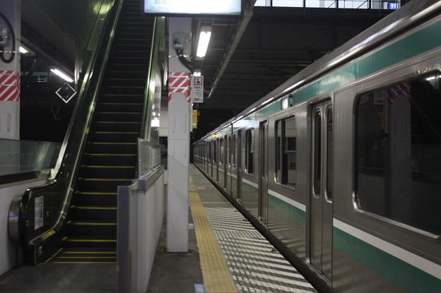 E501系 KY出場試運転 友部停車中 (3)