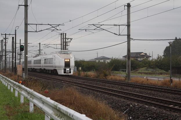 651系K103編成 9424M 臨時快速 ぶらり高尾散策号 高尾 行 (2)