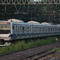 水戸線 E531系3000番台K557編成 757M 普通 勝田 行 (1)