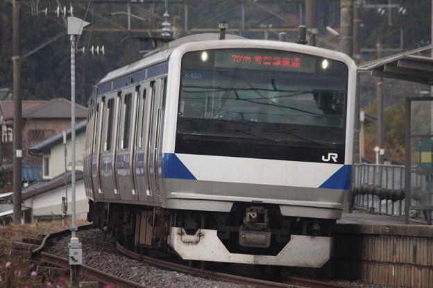 水戸線 E531系K453編成 737M 普通 勝田 行 (2)
