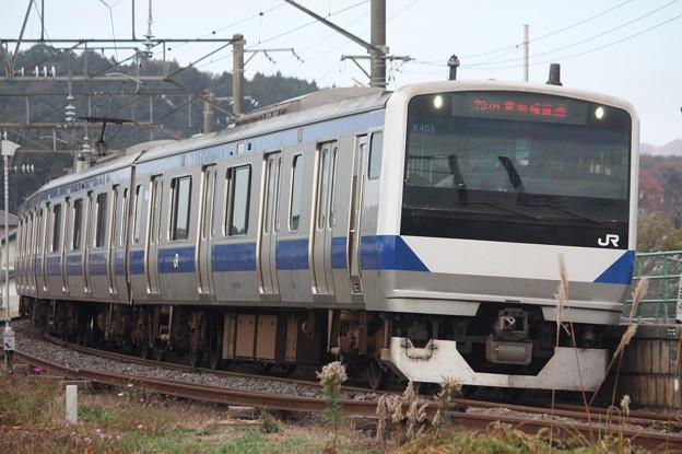 水戸線 E531系K453編成 737M 普通 勝田 行 (4)