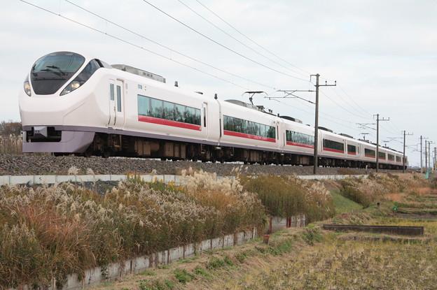 E657系K8編成 74M 特急ときわ74号 品川 行