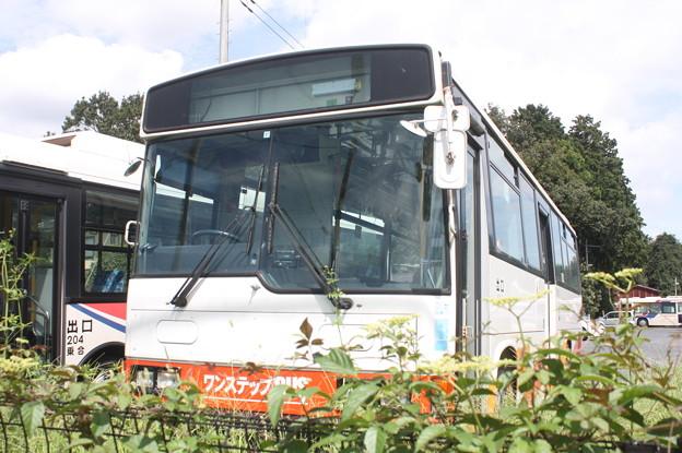茨城交通鯉渕営業所に南海バス留置