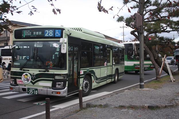京都市営バス 3510号車