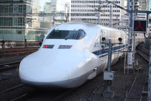東海道新幹線 700系3000番台B3編成 回送 東京駅発車