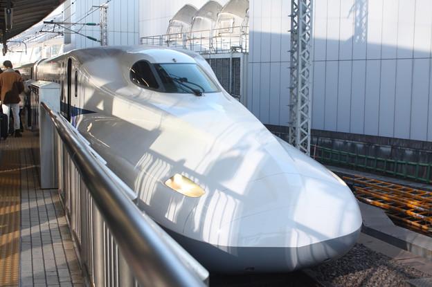 東海道新幹線 N700系2000番台X32編成 のぞみ307号 新大阪 行