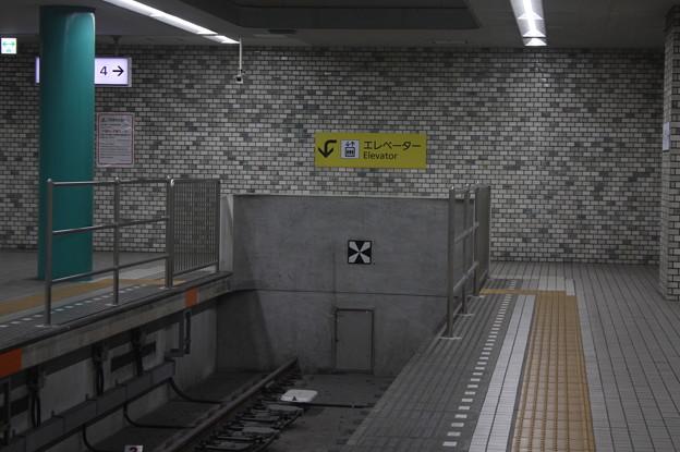 近鉄奈良線 近鉄奈良駅 車止め