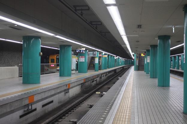 近鉄奈良線 近鉄奈良駅 ホーム