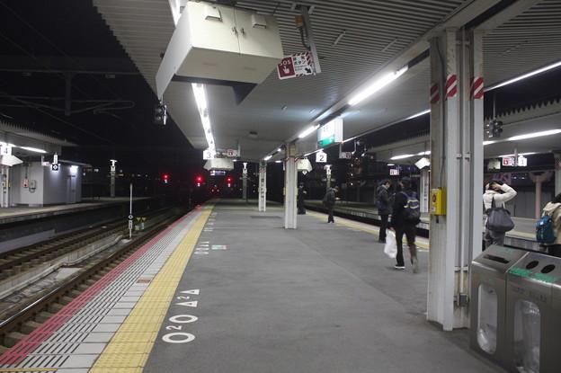 大和路線 奈良駅2番のりば・3番のりばホーム