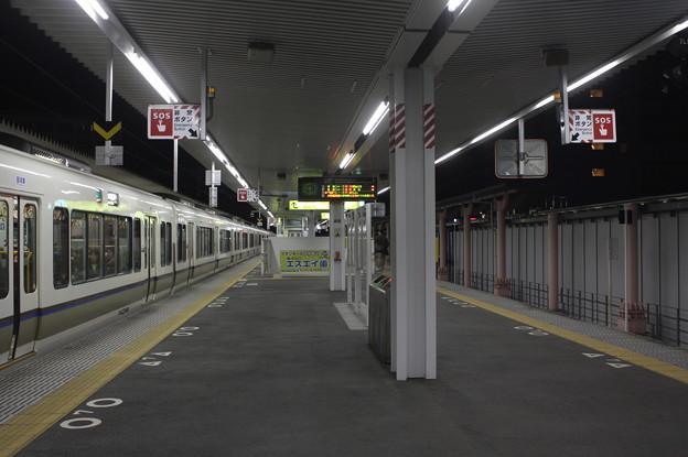 万葉まほろば線・大和路線 奈良駅1番のりば・2番のりば ホーム