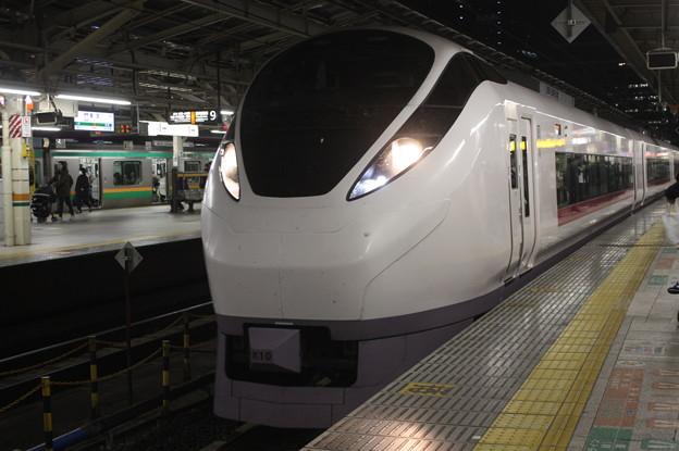 上野東京ライン E657系 特急ときわ71号 東京駅到着