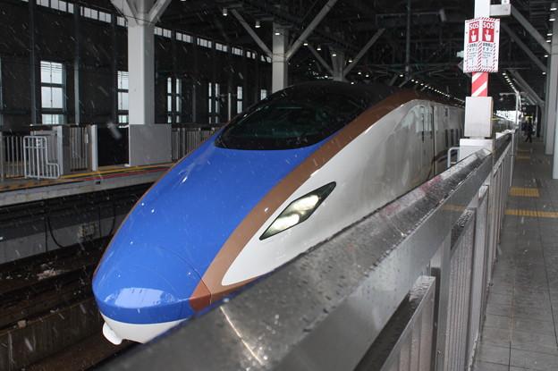北陸新幹線 W7系W3編成 かがやき505号 金沢 行