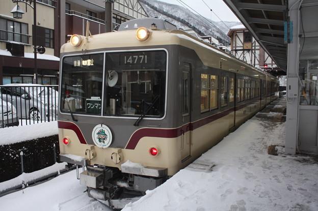 富山地方鉄道 14000系14771 普通 電鉄富山 行