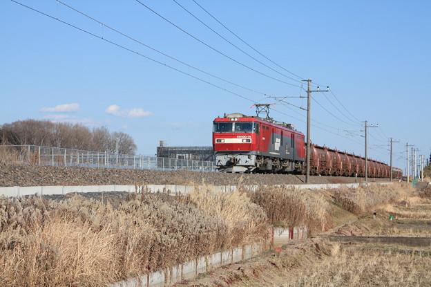 安中貨物 5094レ EH500-79+タキ1200形12B+トキ25000形4B (2)