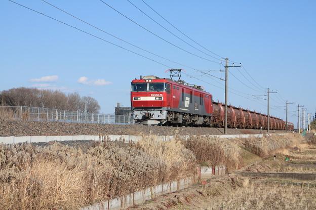 安中貨物 5094レ EH500-79+タキ1200形12B+トキ25000形4B (4)
