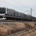 常磐線 E531系K414編成 432M 普通 上野 行