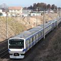常磐線 E531系K425編成 362M 普通 上野 行