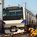 水戸線 E531系K466編成 756M 普通 小山 行 (3)