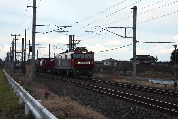 Photos: 2094レ EH500-34+コキ (3)