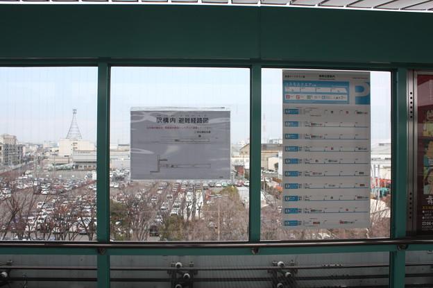 南港東駅 構内