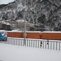 Photos: 富山地方鉄道本線宇奈月温泉駅から見た黒部渓谷鉄道