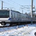 水戸線 E531系K462編成 731M 普通 水戸 行