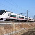 E657系K6編成「花丸遊印録」ラッピング 74M 特急ときわ74号 品川 行