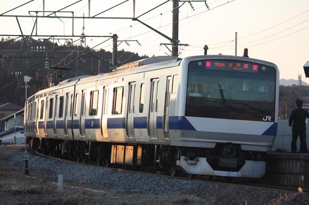 水戸線 E531系K451編成 760M 普通 小山 行 後追い