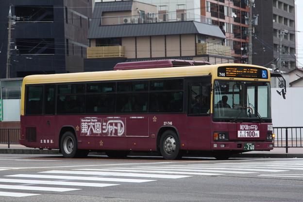 北陸鉄道 27-746号車 城下まち金沢周遊
