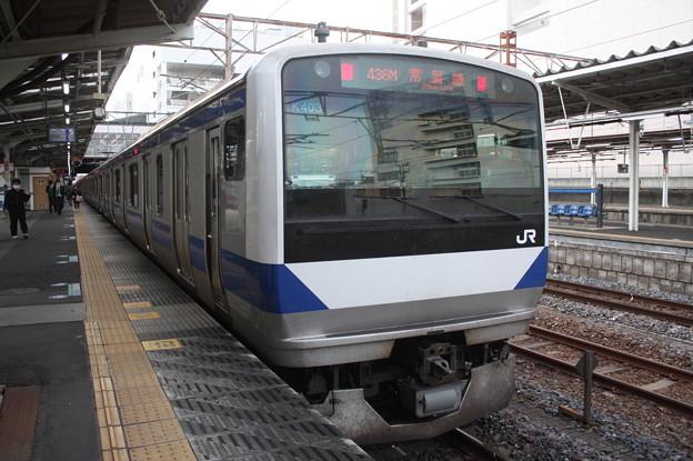 常磐線 E531系K403編成 436M 普通 上野 行