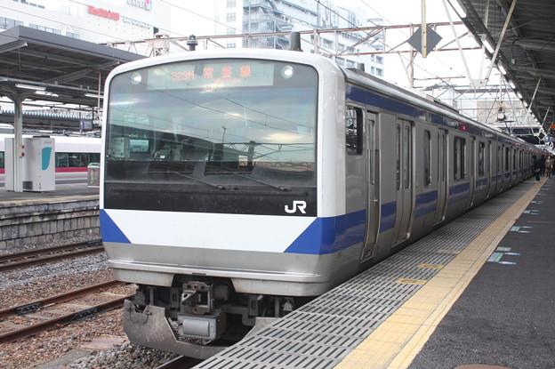 常磐線 E531系K401編成 323M 普通 高萩 行 2019.02.25