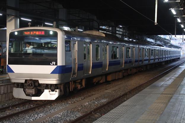 水戸線 E531系K453編成 762M 普通 小山 行 2019.02.25