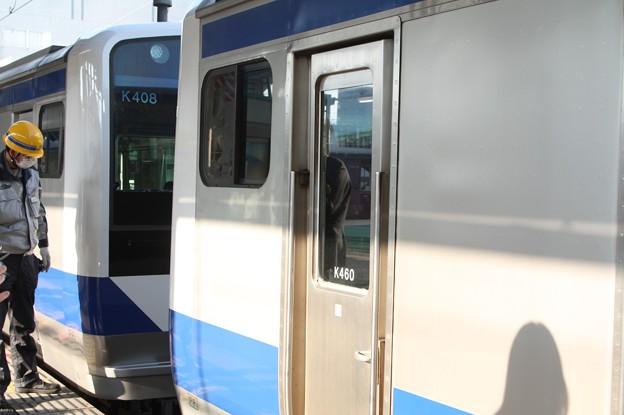常磐線 E531系 土浦駅で増結作業終了 2019.03.02