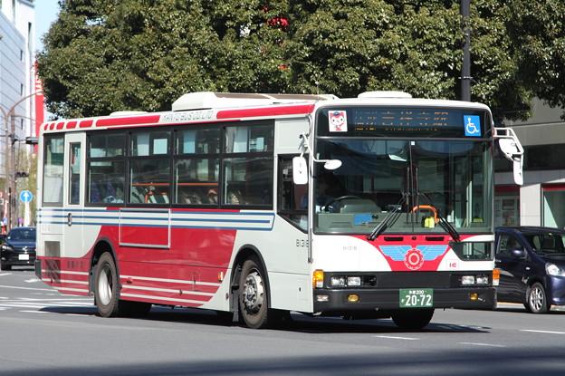 関東バス B1318号車 吉72系統 吉祥寺駅 行き