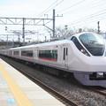 E657系K11編成 8M 特急ひたち8号 品川 行 偕楽園駅通過