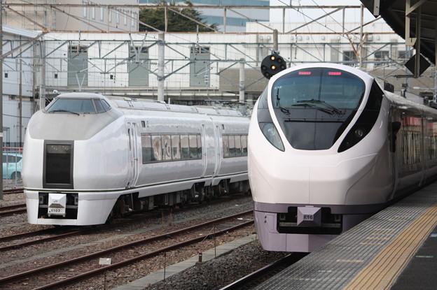 651系K103編成・E657系K16編成 (1)