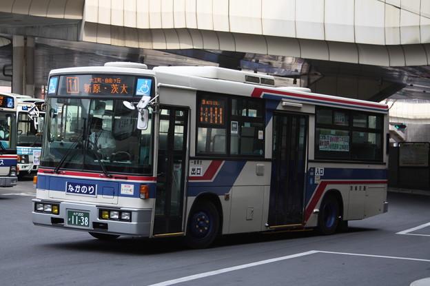 茨城交通 水戸200か1138 11系統 新原・茨大 行き