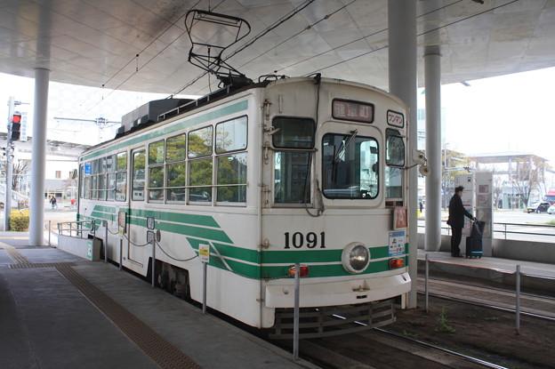 熊本市電 1000形1091号