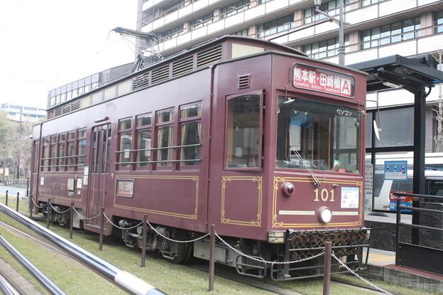 熊本市電 101号