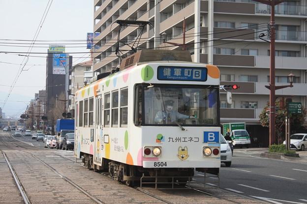 熊本市電 8500形8504号