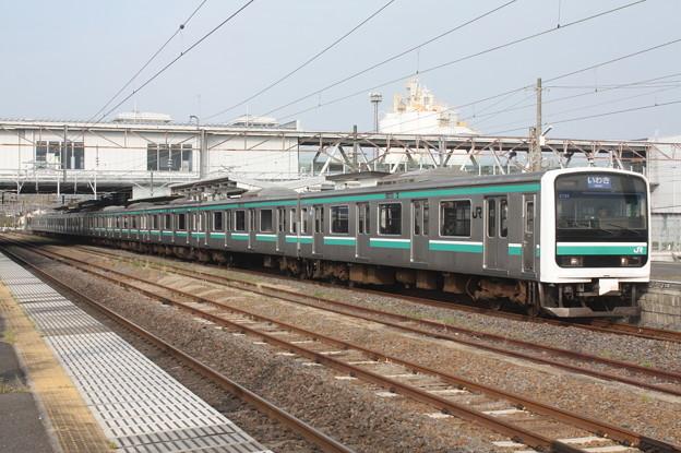 常磐線 E501系K704編成 533M 普通 いわき 行 2019.04.21