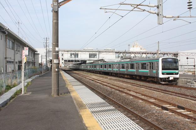 常磐線 E501系K704編成 533M 普通 いわき 行 2019.04.21 (2)