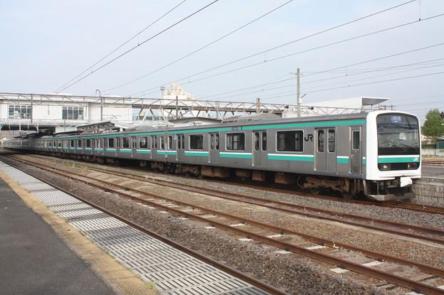 常磐線 E501系K704編成 533M 普通 いわき 行 2019.04.21 (3)